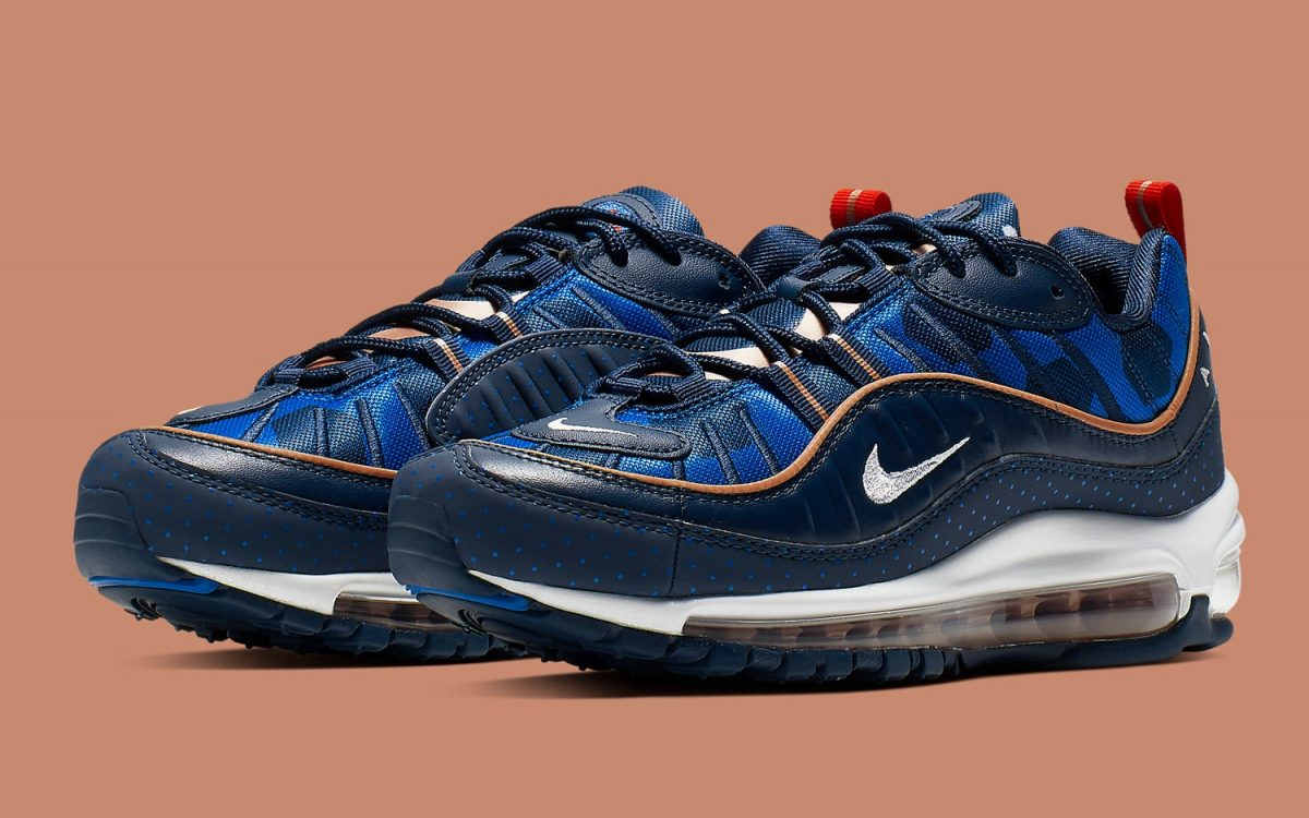 This Air Max 98 Celebrates the French-Held 1998 and 2019 FIFA World Cups