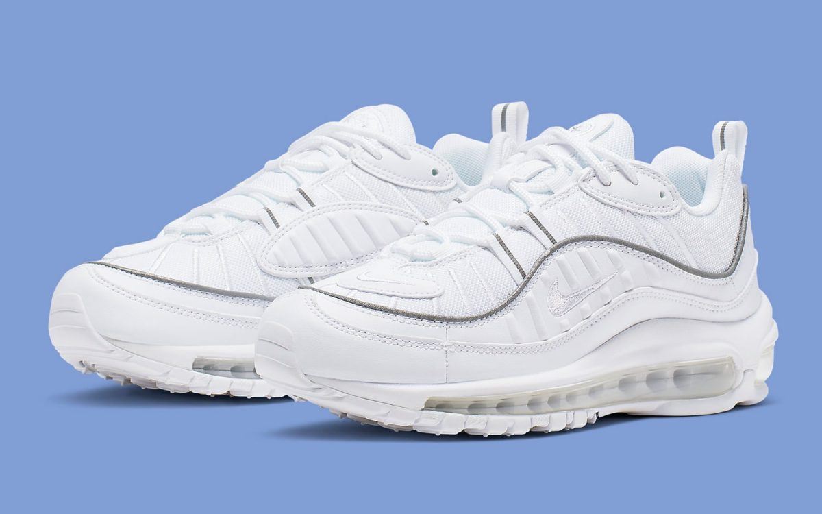 (Almost) All-White Air Max 98s Are Available Now