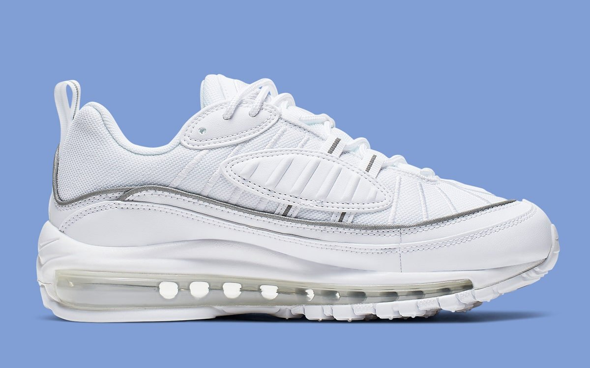low priced 01f9a cd63d Almost) All-White Air Max 98s Are Available Now - HOUSE OF ...