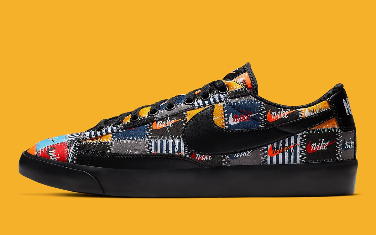 The Nike Blazer Pops Up with Patchwork