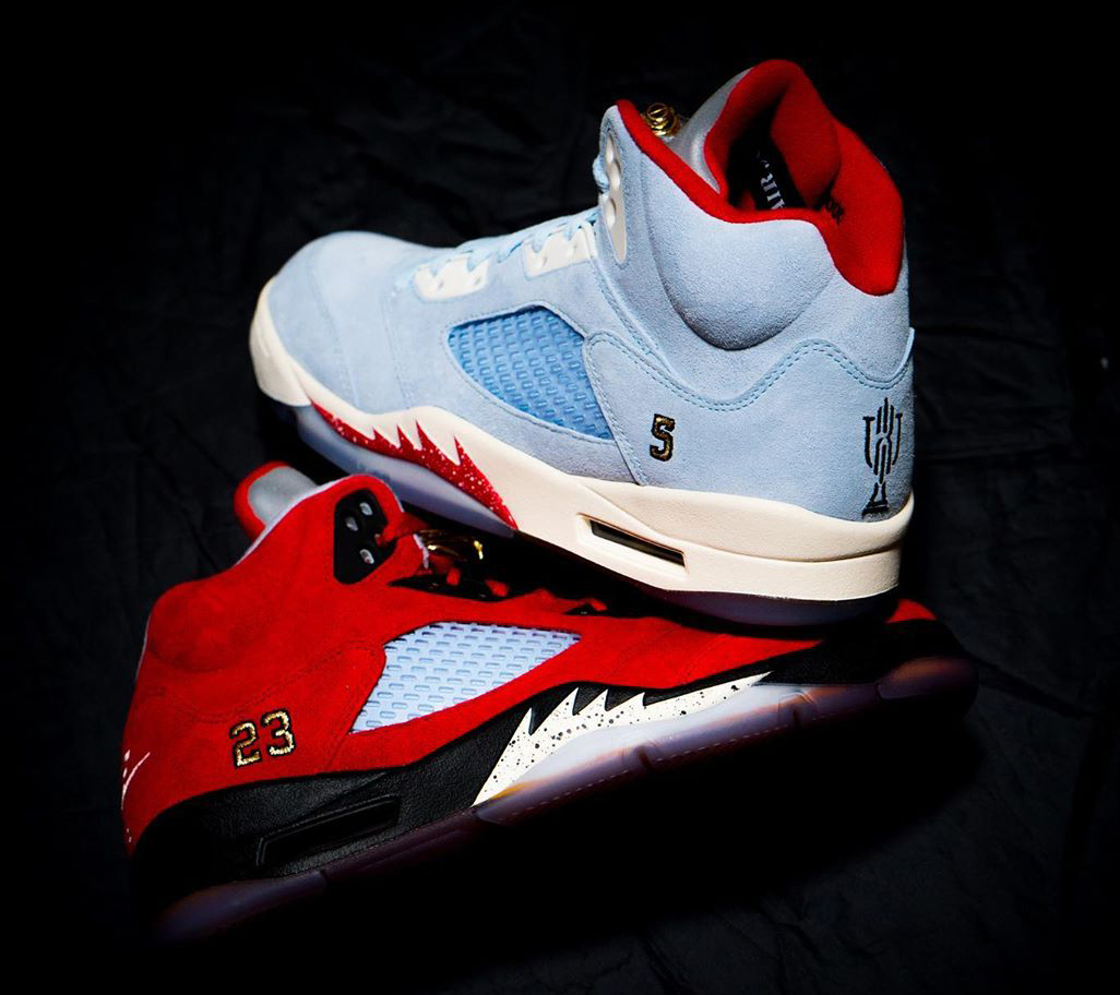 premium selection e5dc6 d58d7 Marcus Jordan s Trophy Room x Air Jordan 5 Releases In-Store and Online on  May