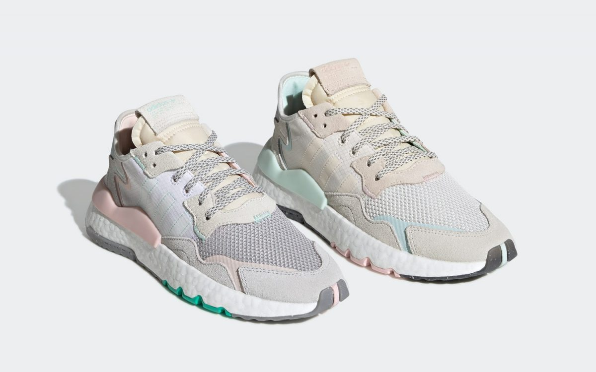 adidas Show a Penchant for Pastels on this Two-Piece Nite Jogger Pack