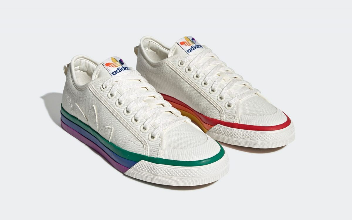 The adidas Nizza Joins the Pride Celebration