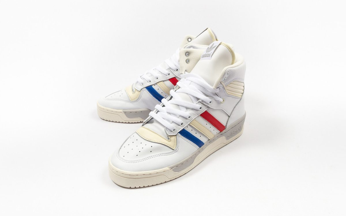 Available Now // French Tri-color adidas Rivalry Hi