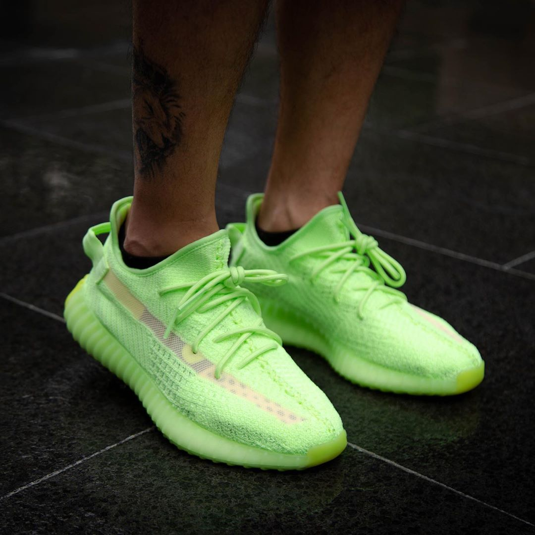 glow in the dark yeezy