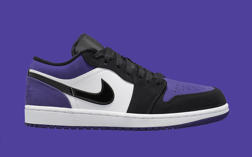 """The Air Jordan 1 Low Now Comes in """"Court Purple"""""""