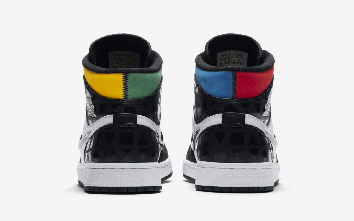 Official Looks at the Air Jordan 1 Mid Quai 54