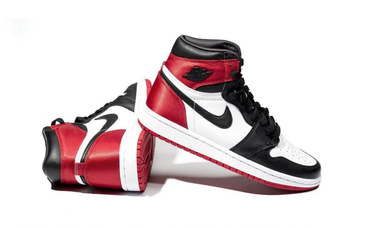 "Satin ""Black Toe"" Air Jordan 1s Arrive this August"