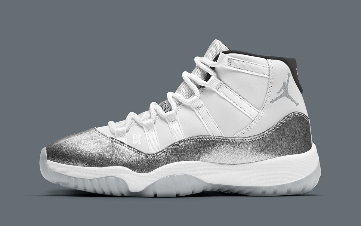 Metallic Silver Jordan 11s to Hit Stores These Holidays