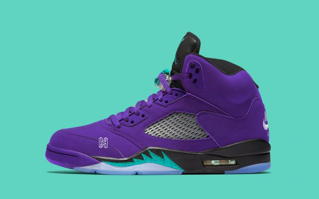 "huge discount 53e83 0d4de Alternate ""Purple Grape"" Air Jordan 5s to Release in 2020"