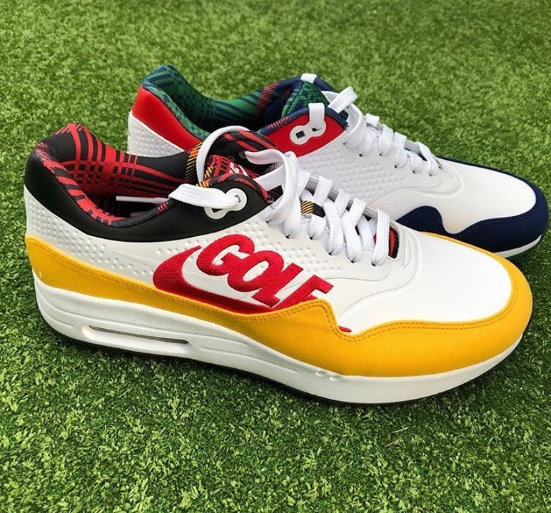 Crooks and Castles have a Nike Air Max 1 Golf Shoe Collaboration