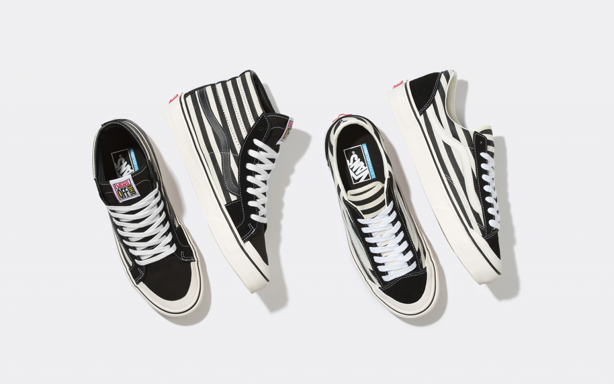 Available Now // Vans Stripe Pack
