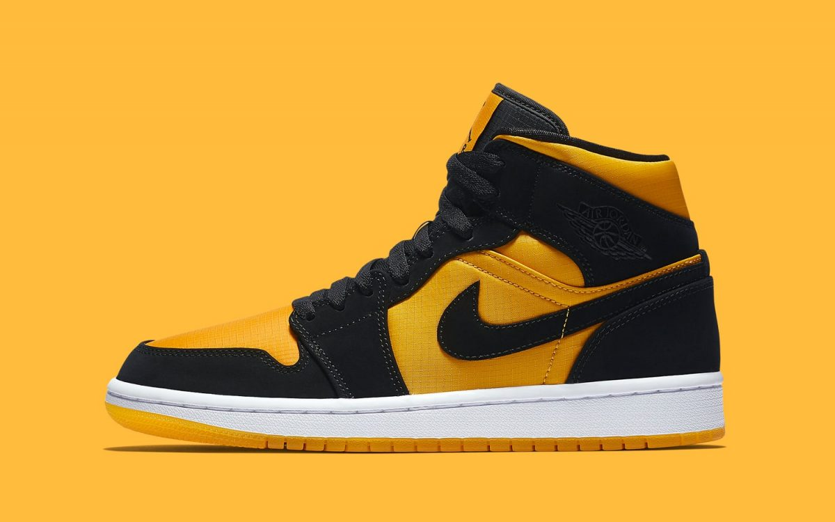 "quality design 07e98 3b7b8 These ""Taxi"" Air Jordan 1 Mids are Available ..."