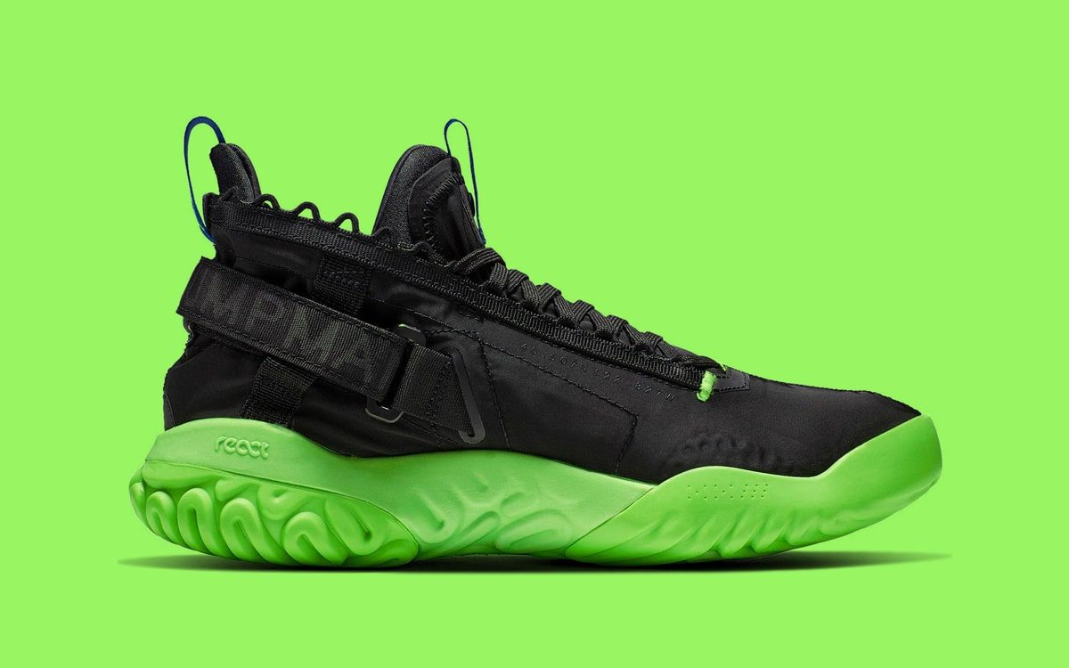 Available Now // The Protro React Steps in Slime Green