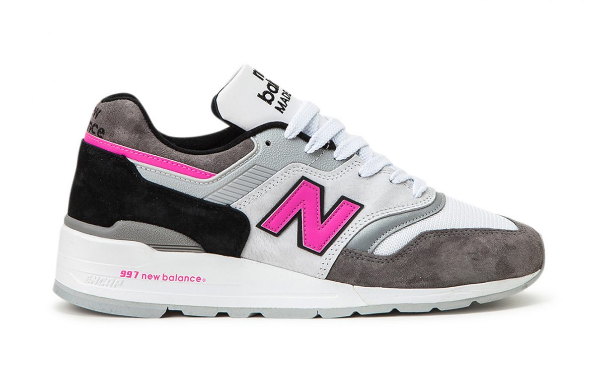 Available Now // New Balance Bust Out Hot Pink for their Next 997