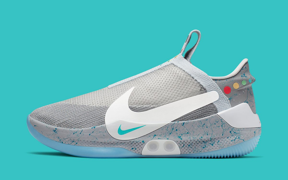 Estrictamente Hecho para recordar Arashigaoka  The Nike Air Mag-Inspired Adapt BB Releases on May 29th - HOUSE OF HEAT |  Sneaker News, Release Dates and Features