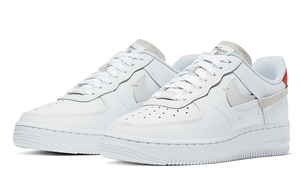 """Nike Air Force 1 Inside Out """"Vandalized"""" White"""