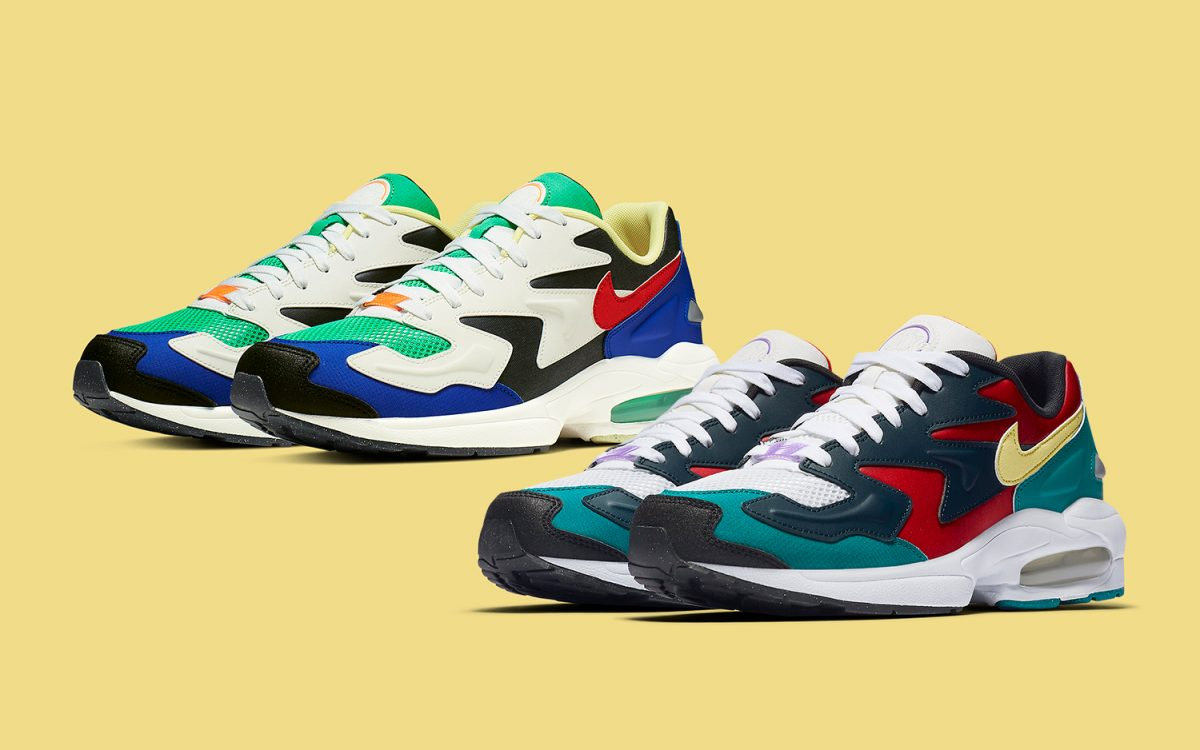 Nike's Air Max2 Light Comes Up in Two Colorful Combos