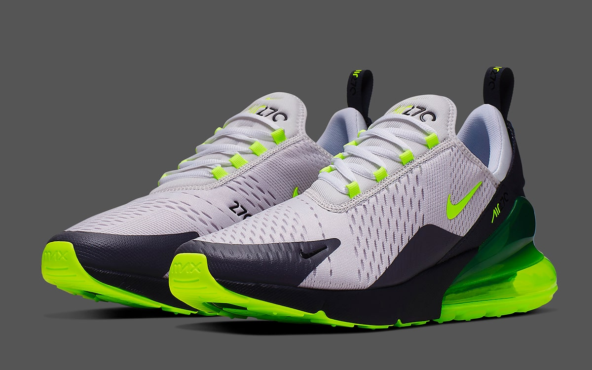 Nike Air Max 270 Volt Grey | CJ0550 001