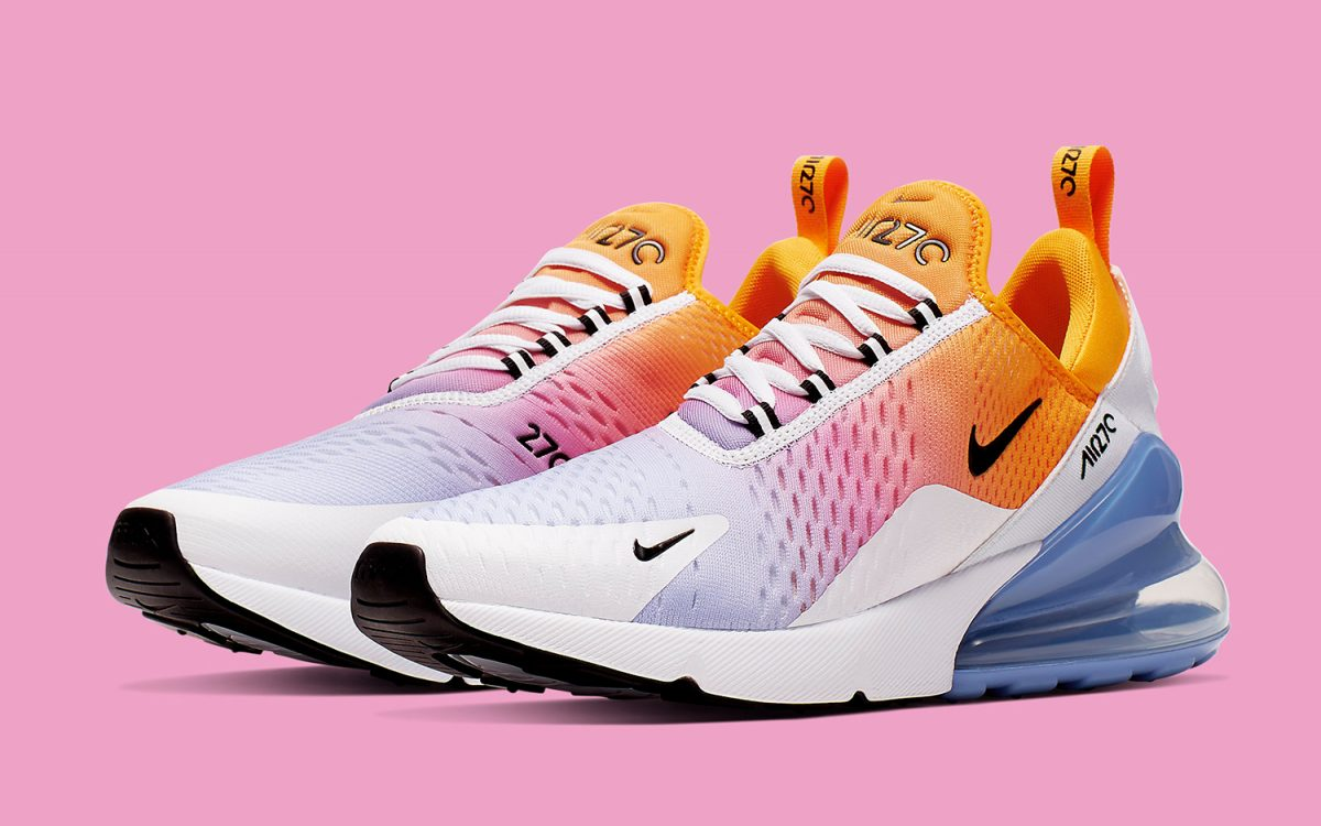 The Air Max 270 Arrives in Ice Pop Gradients for Summer