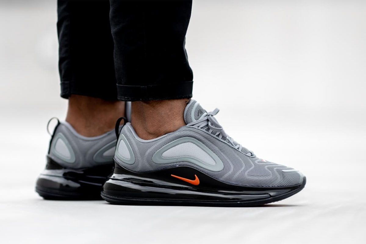 Available Now Nike's Next 720 Slays in Orange and Grey