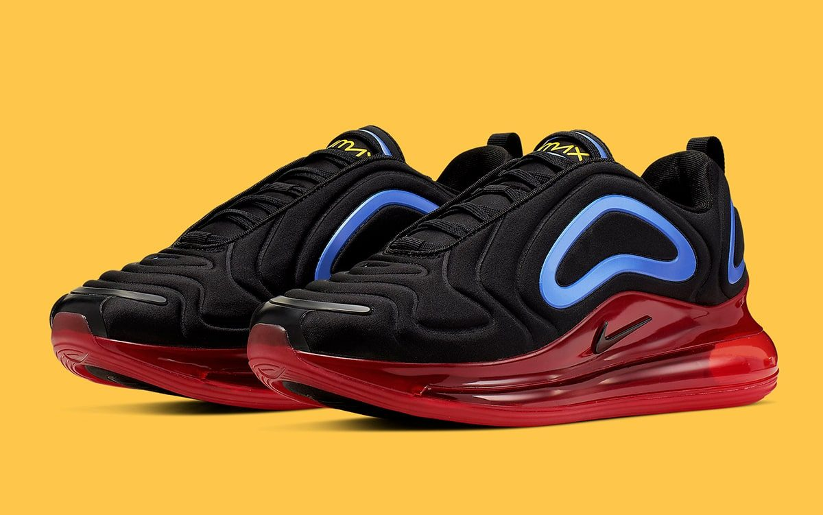 Available Now // These Air Max 720s Channel Punch from Transformers Classic Colors