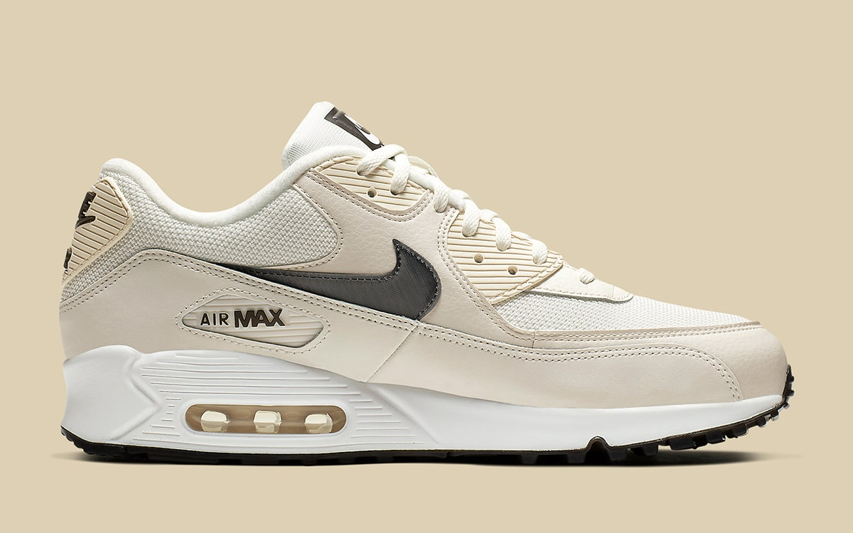 quality design fe1f2 9abc2 Available Now // Ebony and Ivory Adorn the Next Air Max 90 ...