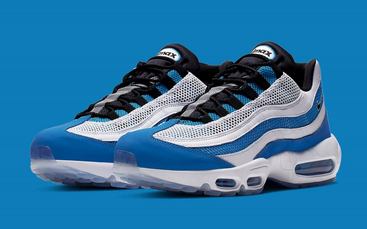 Available Now // Nike Air Max 95 Pops up in Photo Blue