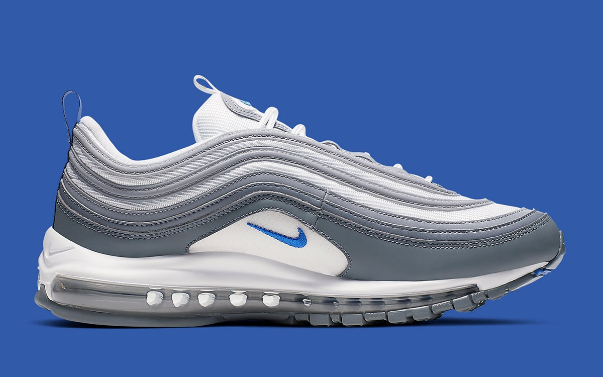 Available Now The Air Max 97 Looks Clean in Cool Grey and
