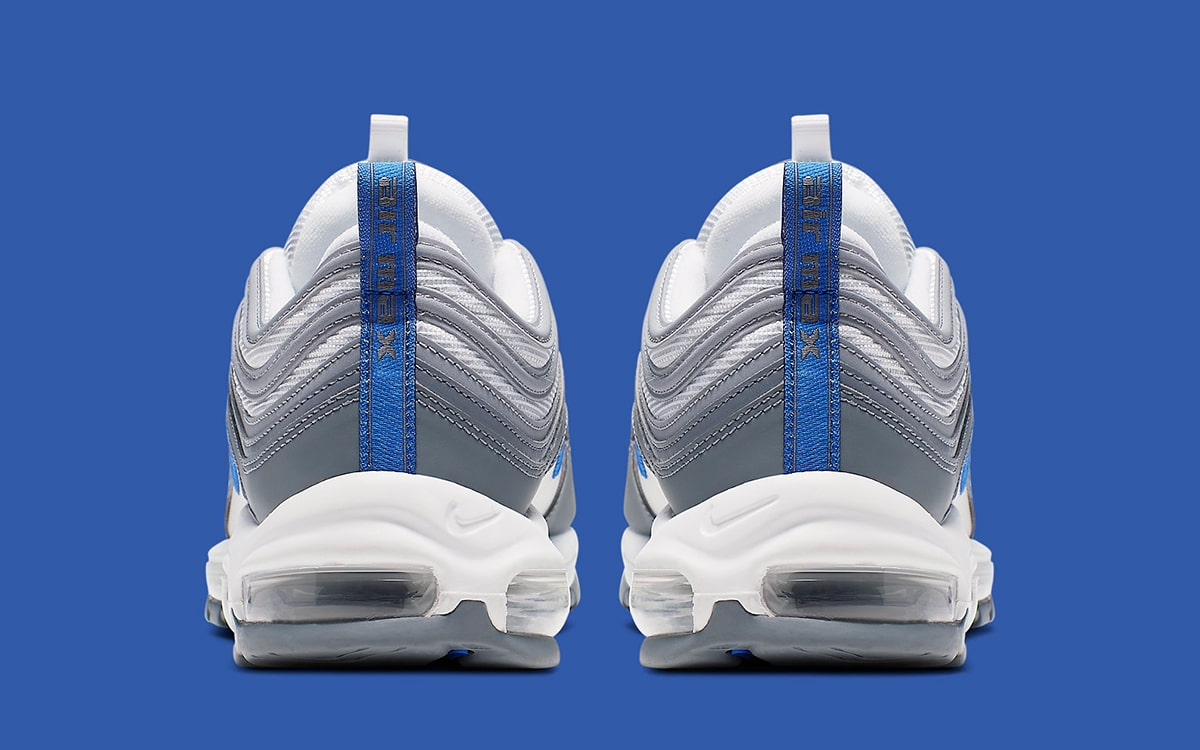 Nike Air Max 97 *Cool Grey* in White Hyper Royal Cool