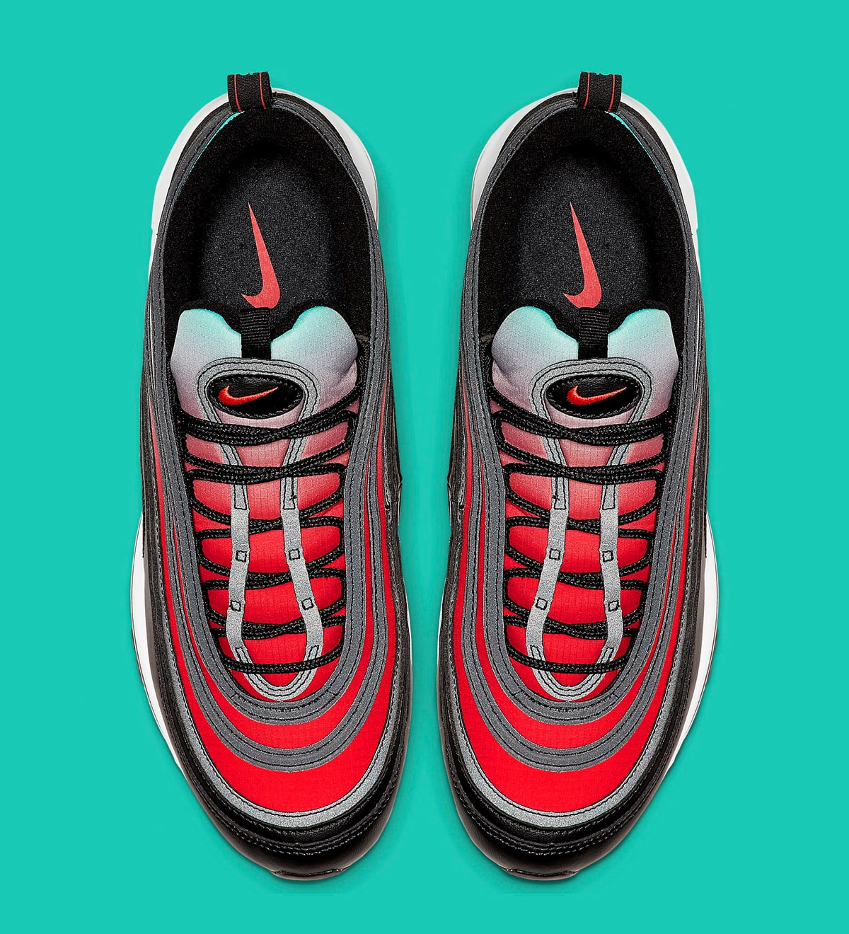 Available Now Gradient Laden Air Max 97s Surface In Bold Colors House Of Heat Sneaker News Release Dates And Features