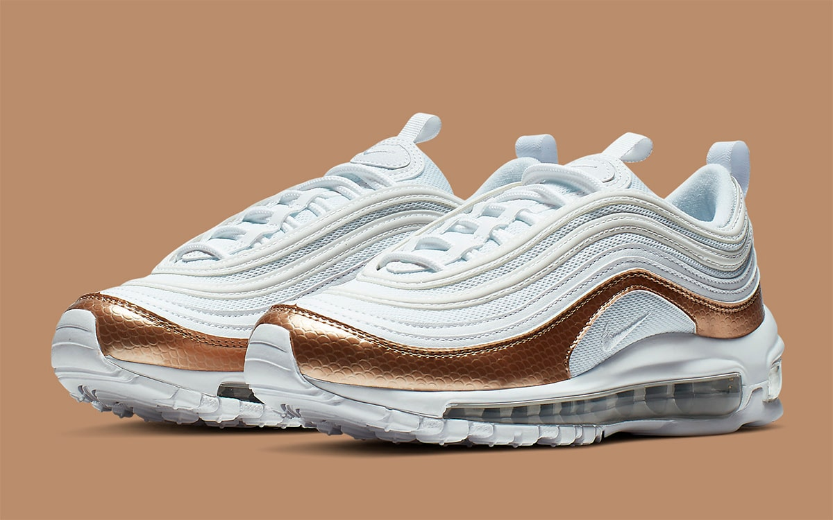 Bronze Metallic Max 97 Boasts This Air OF Touch a HOUSE MVpSzqUG