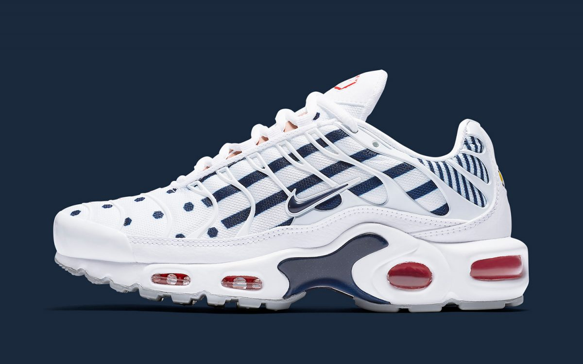 The Air Max Plus is, of Course, the Boldest of the French-Themed Nikes for the FIFA World Cup
