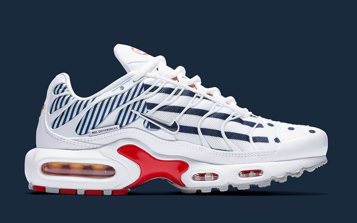 timeless design 2a3a7 1fe45 The Air Max Plus is, of Course, the Boldest of the French ...
