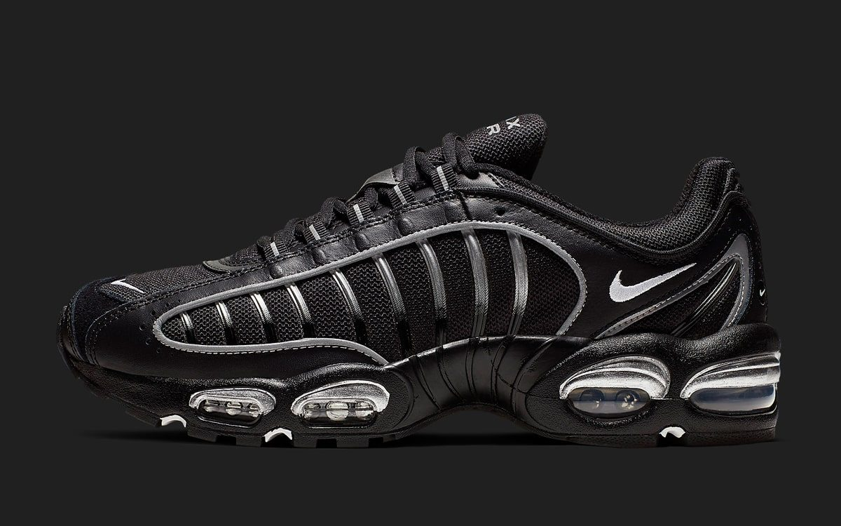 bd452cdfdbf06 Available Now // This New Nike Air Max Tailwind IV Boasts a Bodacious Black  and