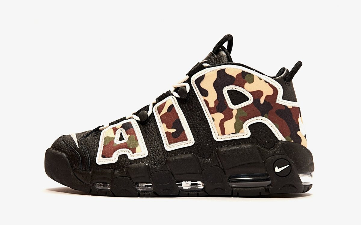 A Camo-Covered Nike Air More Uptempo Arrives this June