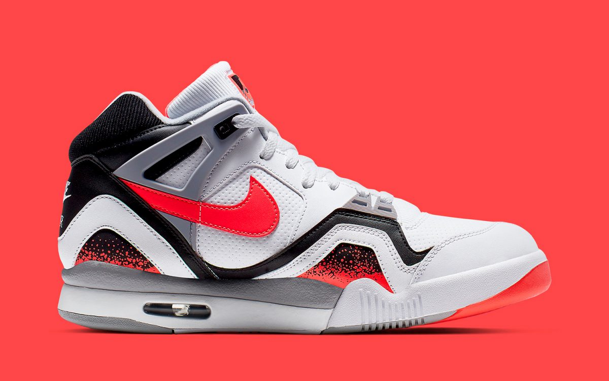 "Andre Agassi's OG Nike Air Tech Challenge II Will Join LeBron's Two-Piece ""Hot Lava"" Pack"