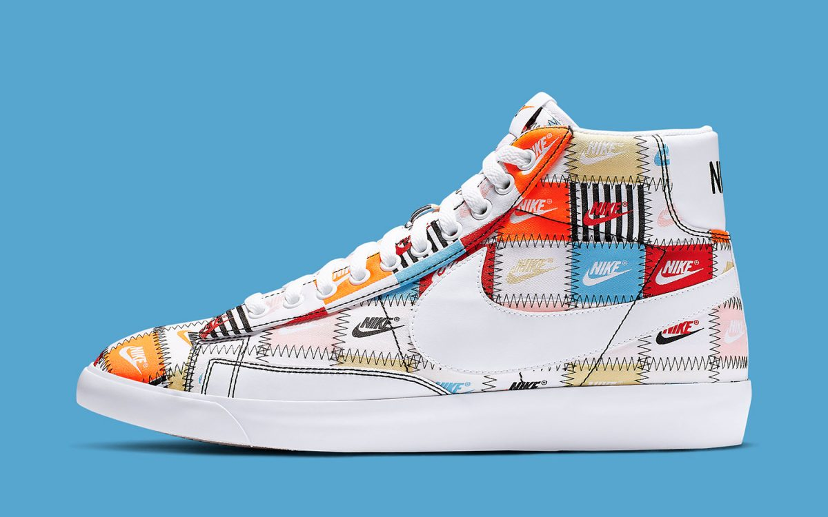 Available Now // The Nike Blazer Pops Up with Patchwork Prints