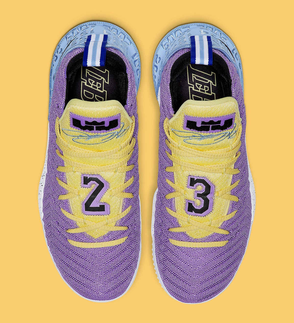 hot sale online 84a8b f8626 This New Nike LeBron 16 Celebrates All 16 Lakers ...