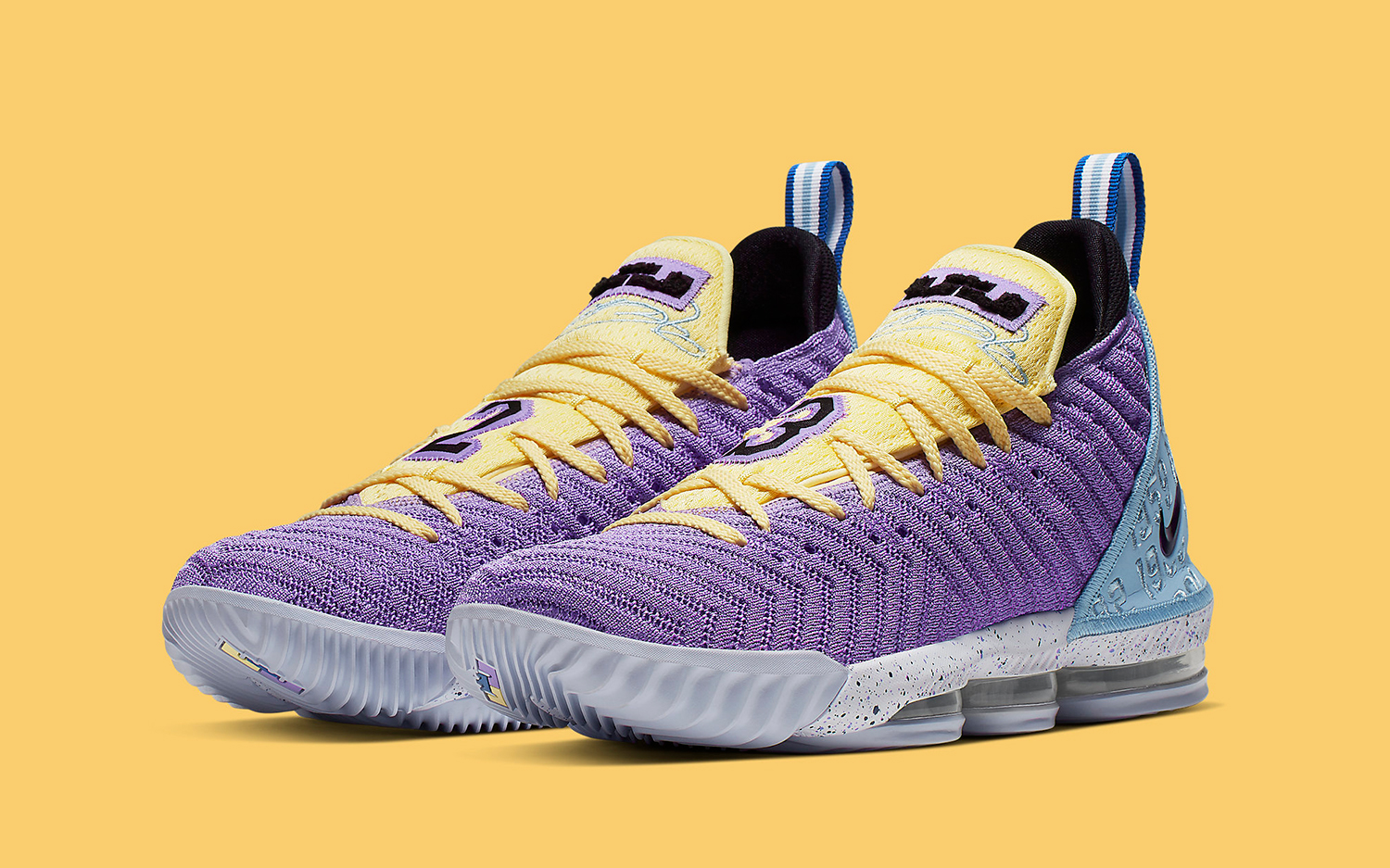 hot sale online 6ad40 8af5a This New Nike LeBron 16 Celebrates All 16 Lakers ...