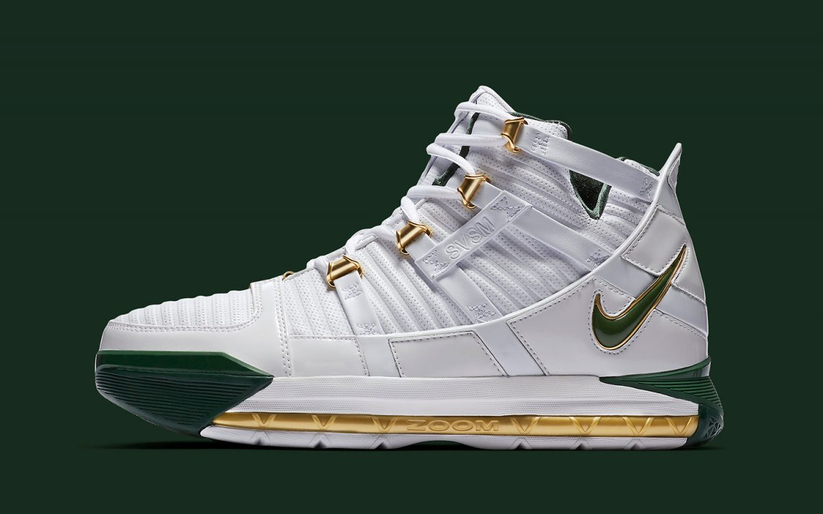 The King's 2006 SVSM LeBron 3 PE Gets a Retail Release This Month!