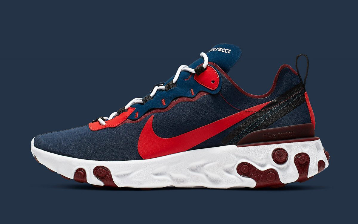 "Available Now // Nike React Element 55 ""Rabid Panda"""