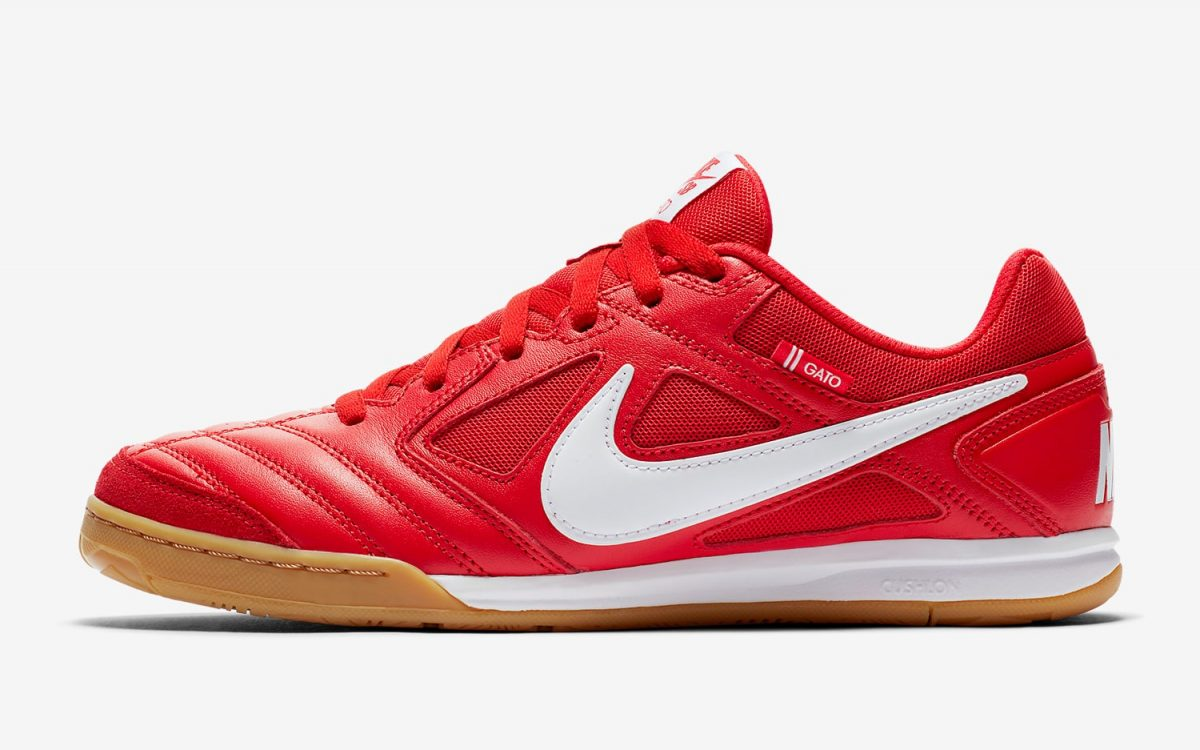 Nike SB Parody their Supreme Collaboration on this New Red & Gum Gato