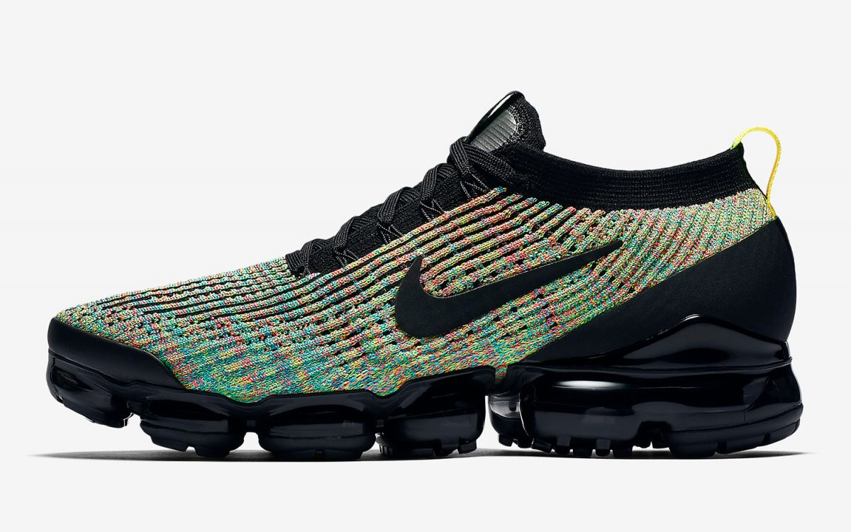 Multi-Color Flyknit Finds its Way back to the Nike Vapormax 3