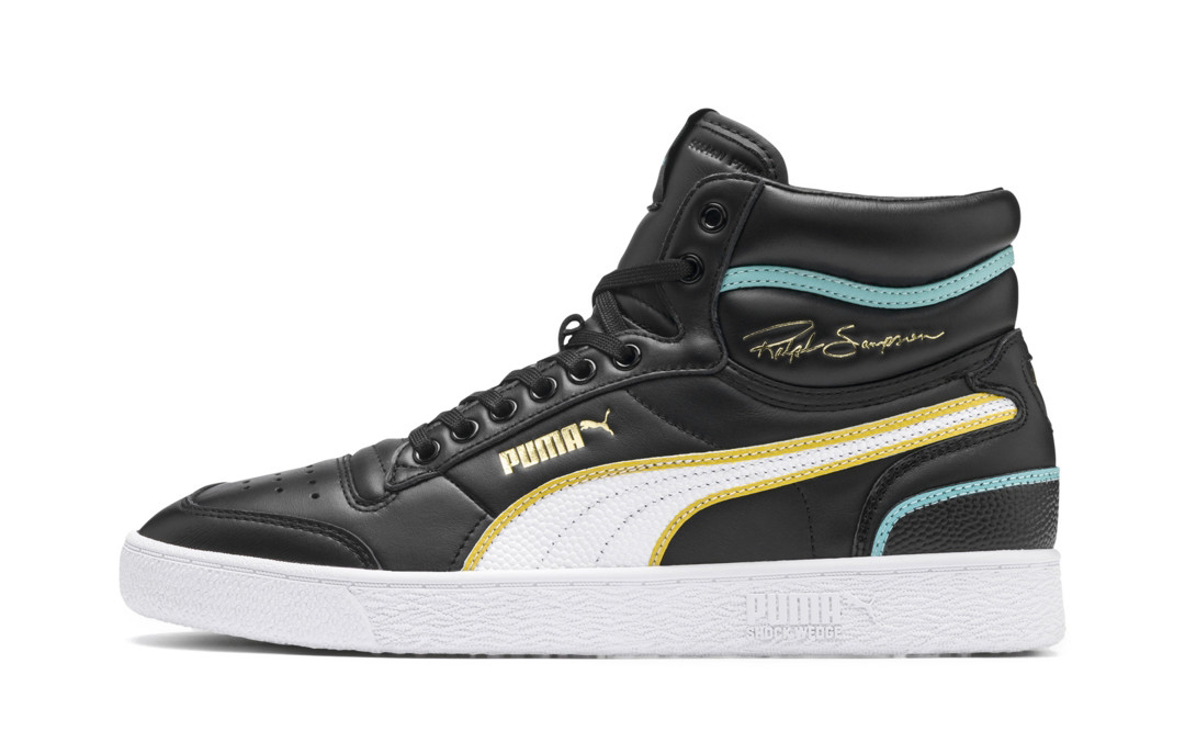 PUMA's Next Ralph Sampson Brings Back Buttery Black Leathers