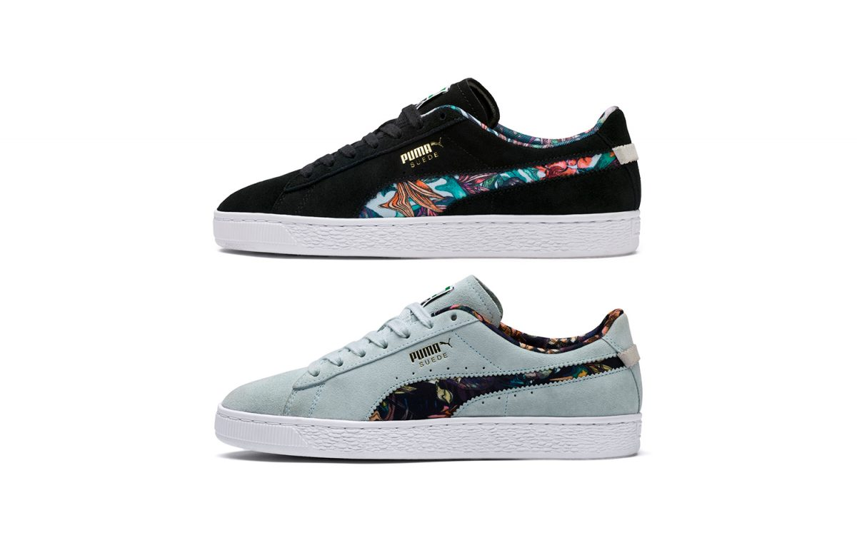 "Available Now // PUMA Suede ""Secret Garden"" Pack"