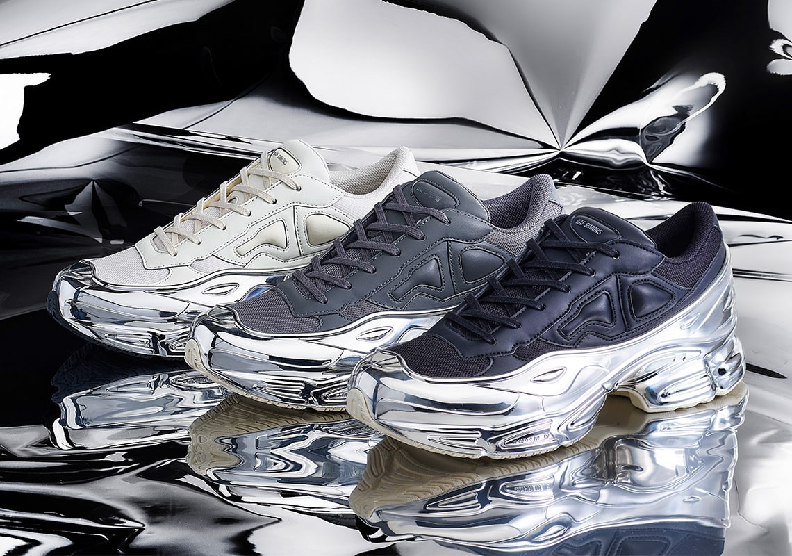 Raf Simons to Drop a Six-Piece Pack of Metallic-Fused Ozweegos Next Week!