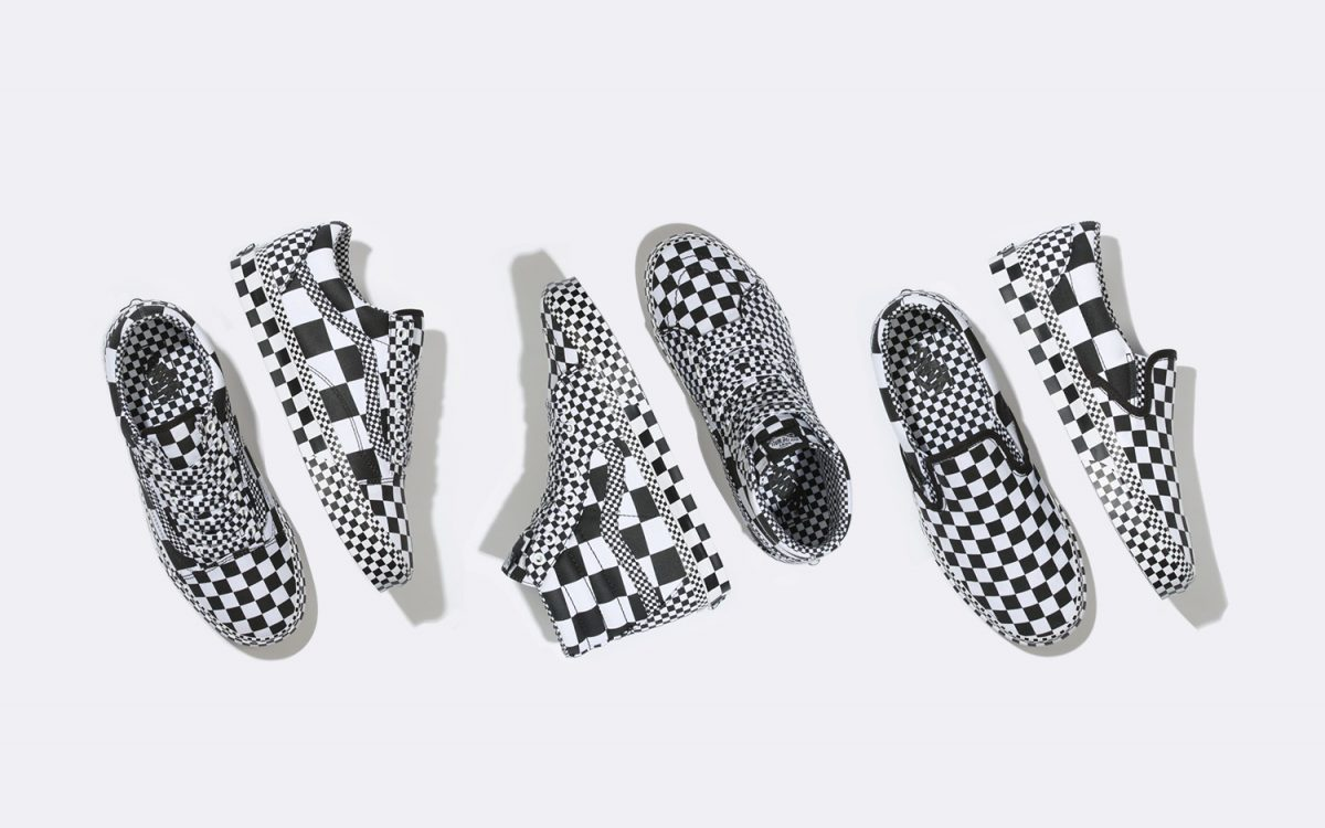"Available Now // ""All Over Checkerboard"" Arrives on Three Classic Vans Silhouettes"
