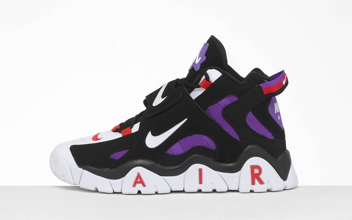 The Big, Bulky Nike Air Barrage Returns July 1st in a Retro Raptors Colorway