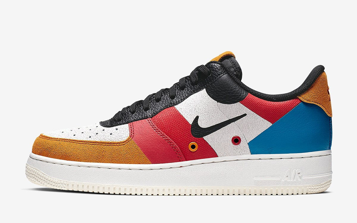 Nike Rework the Air Force 1 Low with Multiple Materials and